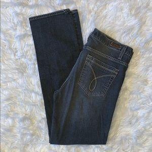 Calvin Klein grey black wash skinny jeans